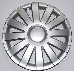 Set Of 4 16 Wheel Trimsrimscaps To Fit Renault Grand Espace + Free Gift 7