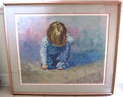 Lucelle Raad Large Rare Budding Artist Print Signed Limited Edition 322/350