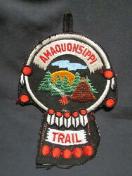 Bsa / Boy Scout Patch - Amaquonsippi Trail