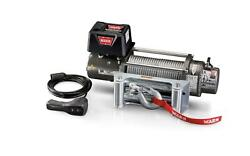 Warn 26502 Universal M8 Series 12 Volt Electric Winch 8000 Lb Pull W/ 100ft Line
