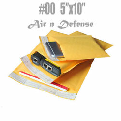 5000 00 5x10 Kraft Bubble Padded Envelopes Mailers Shipping Bags Airndefense