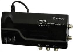 Mercury 130.030 Mains Powered Signal Distribution Amplifier With Dc Pass 3 Out