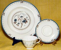 Royal Doulton Dinner Plate, Saucer Old Colony And Millefleur Cup