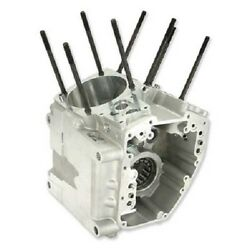 Sands Crankcase 4-1/8 Bore Big Twin Alternator Packaged Silver Harley - 106-4043