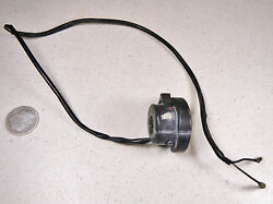 82 Yamaha Xt200 Right Throttle Slide Housing And Engine On/off Stop Kill Switch