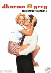 Dharma And Greg The Complete 2nd Second Season 2 Two Brand New 3-disc Dvd Set