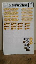 Cut Sheet Micro Scale Decals Rh-3 Southern Pacific Freight Cut Sheet