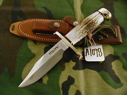 Randall Knife Knives 15-5 1/2 Cdt,ss,bc,blh,all-bl.s,stag,bcbbr A1098
