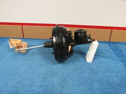 1966 Ford Falcon Power Brake Booster And Master Cylinder Reman. Nice New 615