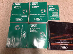 2004 FORD EXPEDITION & LINCOLN NAVIGATOR Shop Repair Service Manual SET OEM
