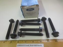 8 Pcs Ford 1989 Taurus T-bird And Sable Cougar Bolt Cylinder Head 6cyl. 3.8l
