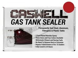 Caswell Phenol Epoxy Fuel And Oil Tank Sealer Dragon's Blood Red Tbs-cas-red