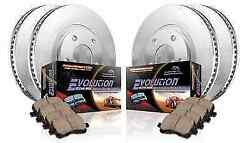 Power Stop Koe4072 Front/rear 1-click Brake Kit For Lexus Gs300/is250/is250c