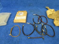Vintage 1930and039s 40and039s War Era Army Gmc Spark Plug Ignition Wire Set Nos Gmc 1015
