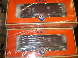 Lionel 6-81789 New Haven Gla 2-pack Scale Twin Hoppers New Nip
