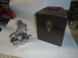 Machinist Lathe Mill J And S Tool Radius Dresser Fixture For Grinding In Case