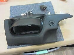 Ferrari 458 Lower Central Dash Panel With Climate Control Mount Part# 81877000