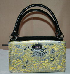 Miche Classic Purse Shell Only Fits Ths Classic Bag Hope Silver Cancer