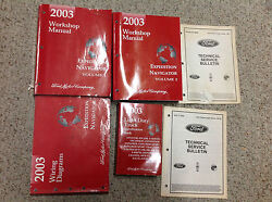 2003 FORD Factory  EXPEDITION & LINCOLN NAVIGATOR Shop Repair Service Manual