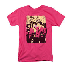 Grease Musical Teen Romance Movie The Pink Ladies Bubblegum Adult T-shirt