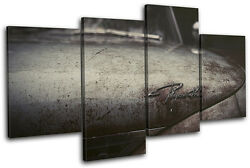 Car Old Vintage Transportation Multi Canvas Wall Art Picture Print