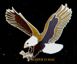 Bald Eagle Jewelry Pin Us Army Navy Marines Air Force