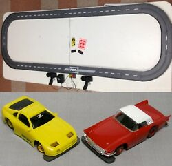 1993 Unused Tyco Tcr Slotless Slot Car Total Control Race Set 13ft + 3 Vehicles