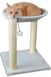 Cat Tree Hammock Scratch Post House Net Bed Furniture for Play with Toy