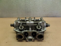 1975 Honda Gl1000 Early Style Right Side Cylinder Head W/ Valves And Rocker Arms