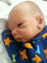 reborn doll baby boy from tanner kit very