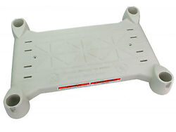 Innovaplas Products Grey Platform For Above Ground Biltmor Swimming Pool Step