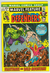 Marvel Feature 2 6.0 Ow Pages Glossy F 2nd Defenders Sc