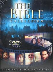The Bible Collection The Greatest Stories Of All Time Brand New 5 Dvd Set