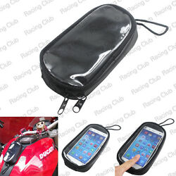19cm x 12cm x 3cm Fuel Tank Phone GPS Mount Magnetic Waterproof Bag For BMW