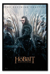 Framed The Hobbit Battle Of Five Armies Bard Poster New