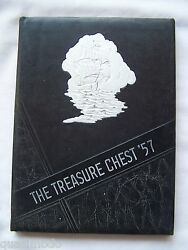 1957 Madison Heights High School Yearbook, Anderson, Indiana Treasure Chest