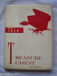 1958 Madison Heights High School Yearbook, Anderson, Indiana Treasure Chest