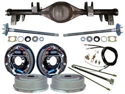 Currie 65-70 Impala Rear End And 11 Drum Brakeslinesparking Cablesaxlebel Air