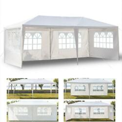 Outdoor 10and039x20and039canopy Party Wedding Tent Heavy Duty Gazebo Pavilion Cater Events
