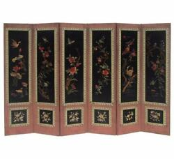 Chinese Antique Birds And Flowers Four Season Hand Embroidery Display Panel F783