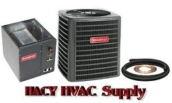 3-12 Ton 13 Seer Central Air AC Add On - GSX130421 + Evaporator Coil + Line Set