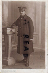 Ww1 Soldier Pte Wiltshire Yeomanry In Greatcoat
