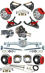 NEW SUSPENSION & WILWOOD BRAKE SET,CURRIE REAR END,CONTROL ARMS,POSI GEAR,646634
