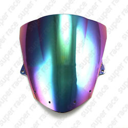 Iridium Windshield Windscreen For Kawasaki Ninja ZX6R 2009-2014 ZX10R 2008-09 10