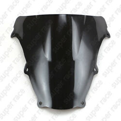 Black Windshield Windscreen For Suzuki SV650 SV1000 2003-2004 2005 2006 07 08 09