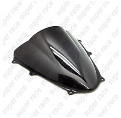 Black Motorcycle Windshield Windscreen For Suzuki GSXR1000 2009-2010 2012 13 14