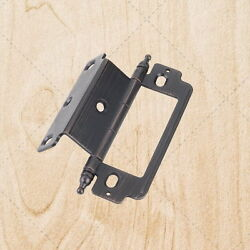 Furniture Cabinet Hinges Inset Brushed Oil Rubbed Bronze 3/4 X 3/4 X 4 Hx178
