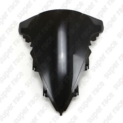 Black Motorcycle Windshield Windscreen For Yamaha YZF R1 2009-2010 2011 12 13 14