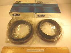 2 Pcs Ford 1967/79 Truck Seal Kit Rear Wheel Grease Free Priority Mail Shipping