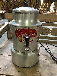 Helmco-lacy Johnston Hot Chocolate Dispenser A-170 Vintage Old 1950s